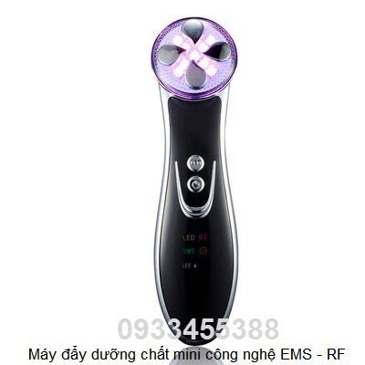 Máy chạy dưỡng chất chăm sóc da mặt mini EMS RF Photon - Y Khoa Kim Minh