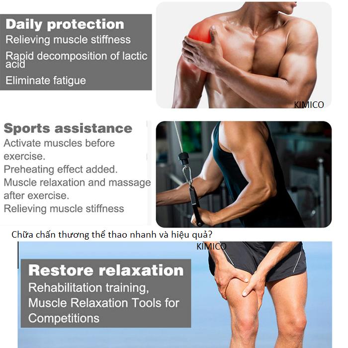 Bạn cần tìm thiết bị chữa chấn thương thể thao, trị giãn cơ bong gân? - Y khoa Kim Minh