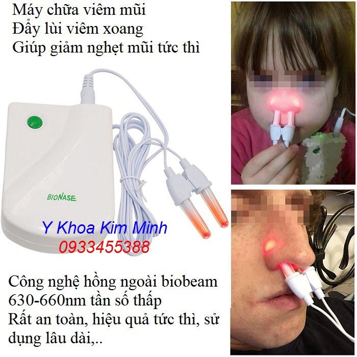 Bionase máy chữa viêm mũi viêm xoang dị ứng dùng cho người lớn và trẻ em - Y khoa Kim Minh