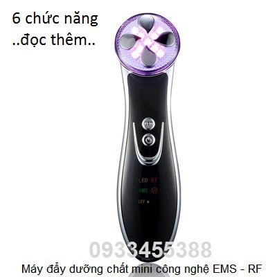 Máy đẩy dưỡng chất 6 chức năng mini EMS Bio RF - Y khoa Kim Minh