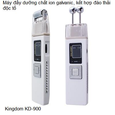 Máy đẩy dưỡng chất mở tế bào da và loại bỏ độc tố Bio EMS KD-900 - Y khoa Kim Minh