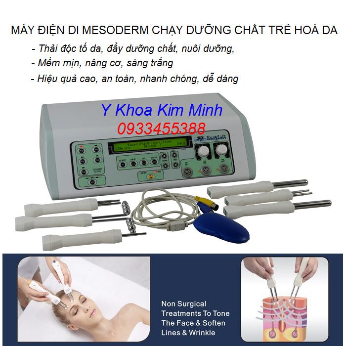 Máy điện di mesoderm mở tế bào da đẩy dưỡng chất cao cấp EASY LIFT - Y khoa Kim Minh