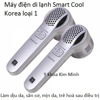 Máy điện di lạnh Smart Cool Hàn Quốc loại 1 kết hợp serum Ultra Repair- Y Khoa Kim Minh