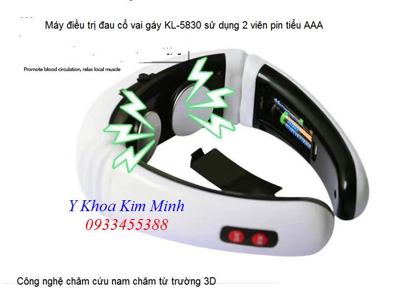 Máy điều trị đau cổ vai gáy KL-5830 - Y Khoa Kim Minh 0933455388