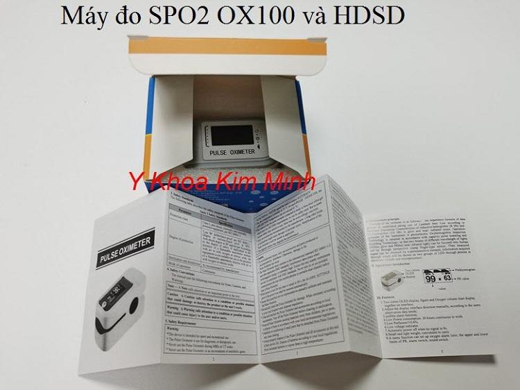 Máy đo oxy máu SPO2 OX100 bán tại Y Khoa Kim Minh