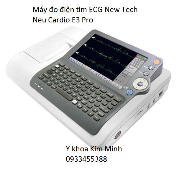 Máy đo điện tim 3 kênh Neu Cardio E3 Pro của hãng New Tech - Y Khoa Kim Minh