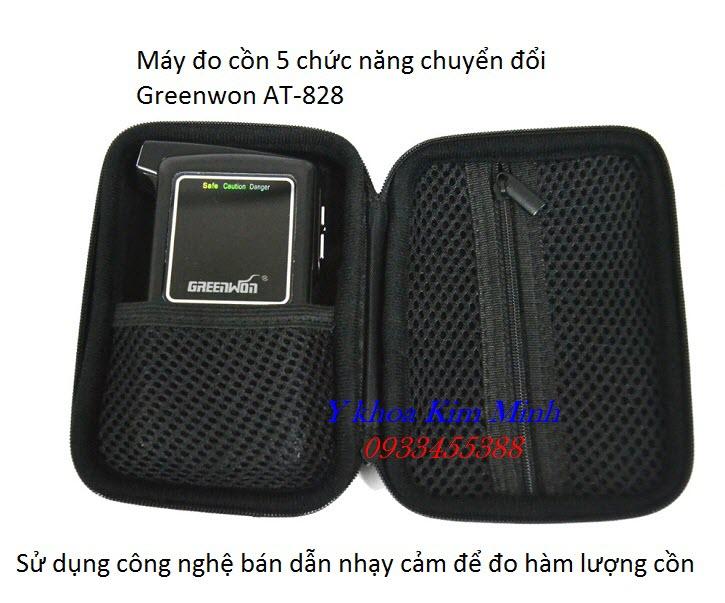 Máy kiểm tra nồng độ cồn hơi thở cao cấp chính xác nhất hiện nay Greenwon AT-858S - Y Khoa Kim Minh