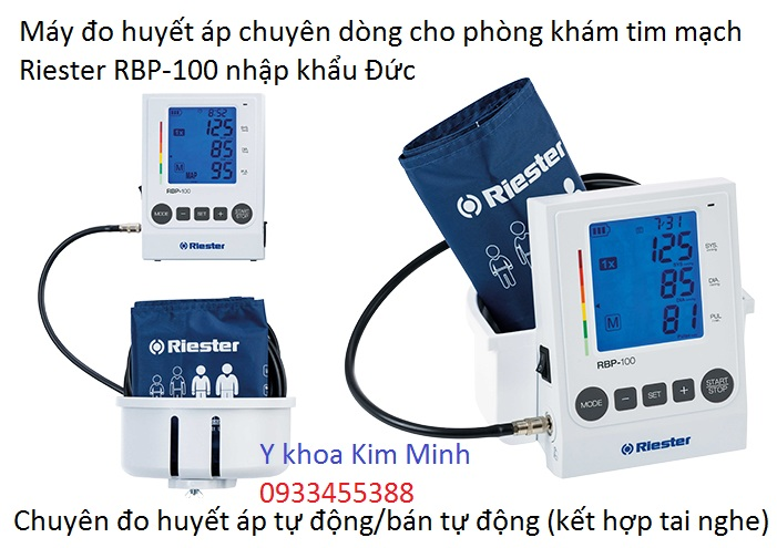 Riester RBP-100 may do huyet ap dung cho phong kham tim mach nhap khau Duc - Y khoa Kim Minh