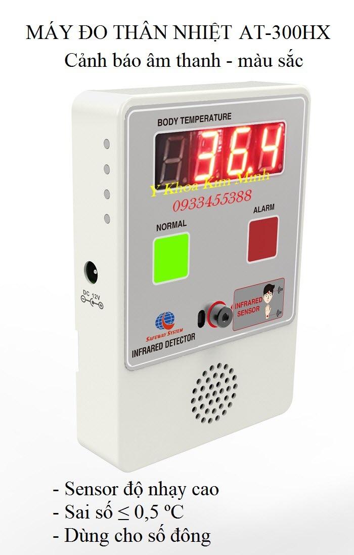 Máy đo thân nhiệt tự động dùng cho số đông AT-300HX - Y Khoa Kim Minh
