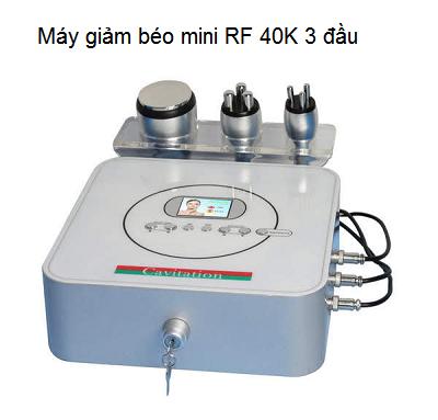 May giam beo mini 3 dau RF 40K - Y Khoa Kim Minh 0933455388