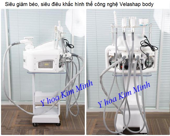 Máy điêu khắc hình thể đa năng 5 trong 1 Velashap V-Nine - Y khoa Kim Minh