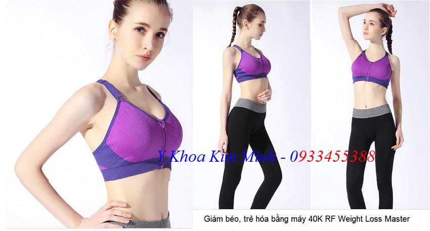 May giam beo 40K Cavitation RF sieu nhanh Weight Loss Master - Y Khoa Kim Minh 0933455388