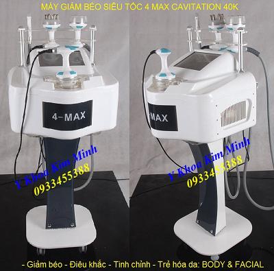 Máy giảm béo cấp tốc RF 40K chuyên nghiệp - Y Khoa Kim Minh