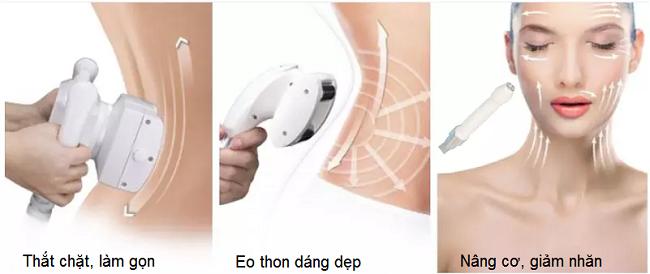 Máy giảm béo và trẻ hóa da mặt V-Nine Velashap - Y Khoa Kim Minh