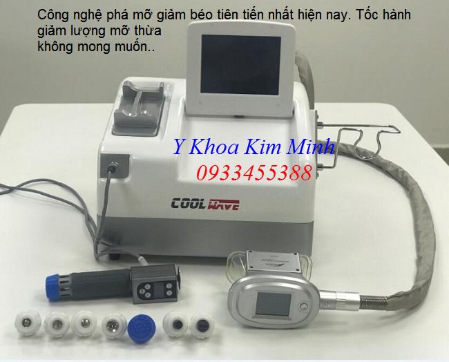 Coolwave, máy phá mỡ giảm béo siêu nhanh bằng quang đông lạnh Cryolipolysis - Y Khoa Kim Minh 0933455388