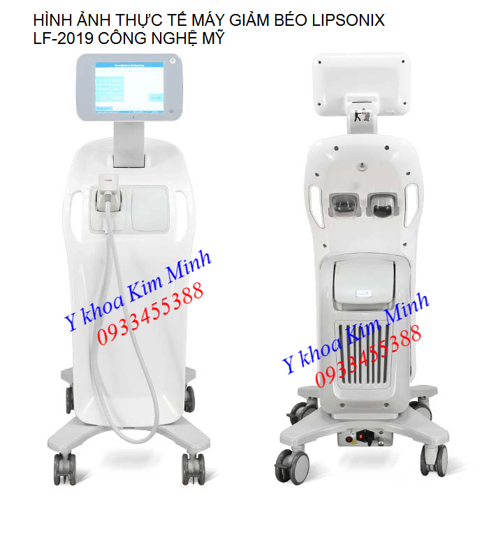 May giam beo toan than Liposonix LF-2019 công nghệ Mỹ - Y khoa Kim Minh 0933455388