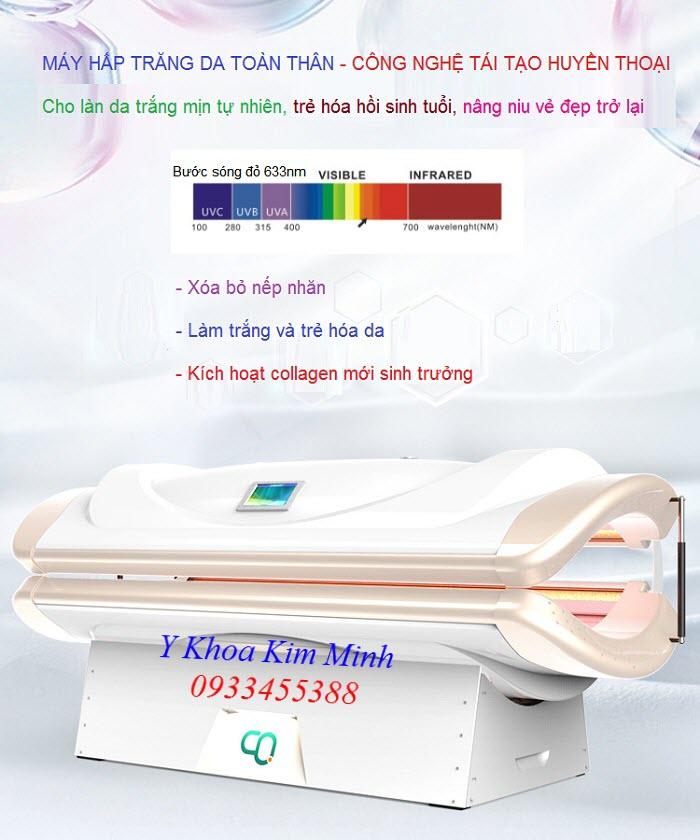 Máy hấp trắng da body HTC-01 bán tại Tp Hồ Chí Minh - Y Khoa Kim Minh 0933455388