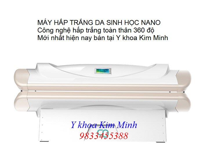 Máy hấp trắng da toàn thân công nghệ sinh học nano KTC-01 - Y khoa Kim Minh