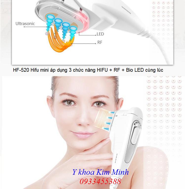 Công nghệ áp dụng máy Hifu mini HF-520 - Y khoa Kim Minh 0933455388