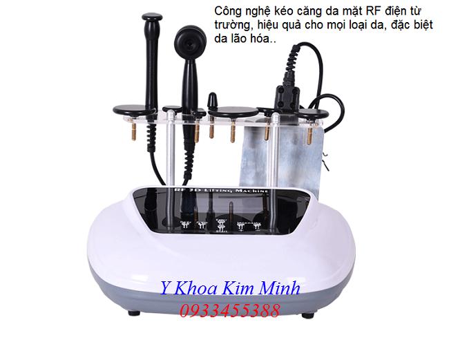 Kéo căng da mặt bằng công nghệ máy RF điện từ trường FX-06 - Y Khoa Kim Minh