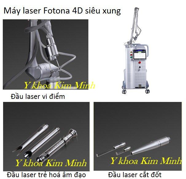 Bộ máy laser Fotona 4D siêu xụng 60W bán tại Y Khoa Kim Minh