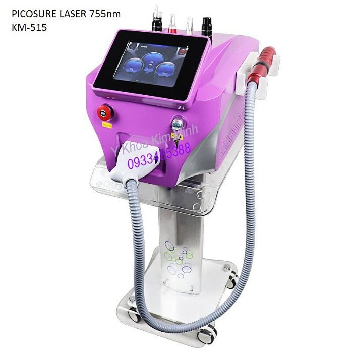 May laser tri nam va lam trang da công nghệ Picosure 755nm KM-515 - Y Khoa Kim Minh
