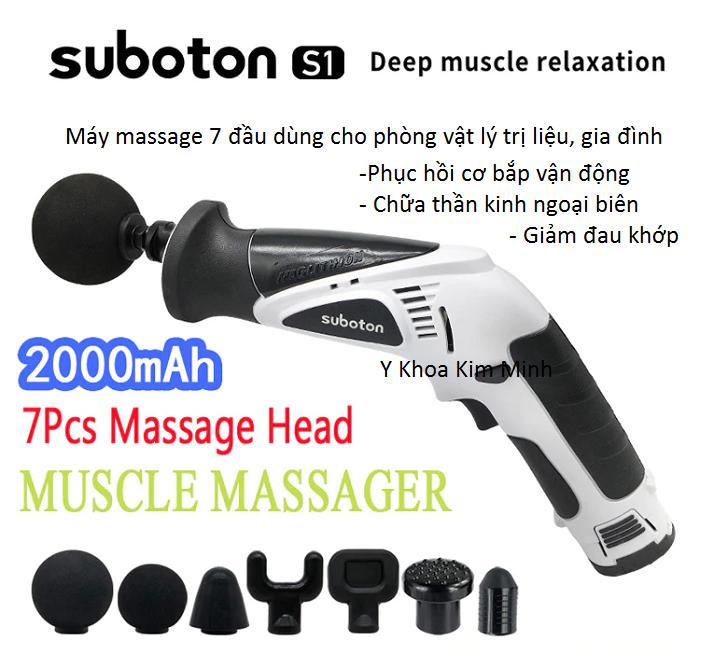 Máy massage Suboton 7 đầu điều trị giảm đau cơ khớp bán tại Tp Hồ Chí Minh - Y khoa Kim Minh