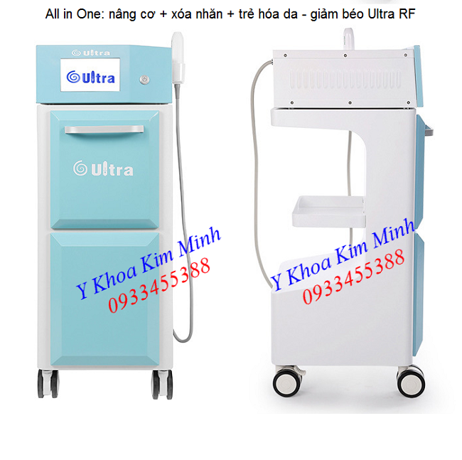 May nang co xoa nhan giam beo all in one lifting, wrinkle, reducing fat Ultra RF Machine - Y khoa Kim Minh 0933455388