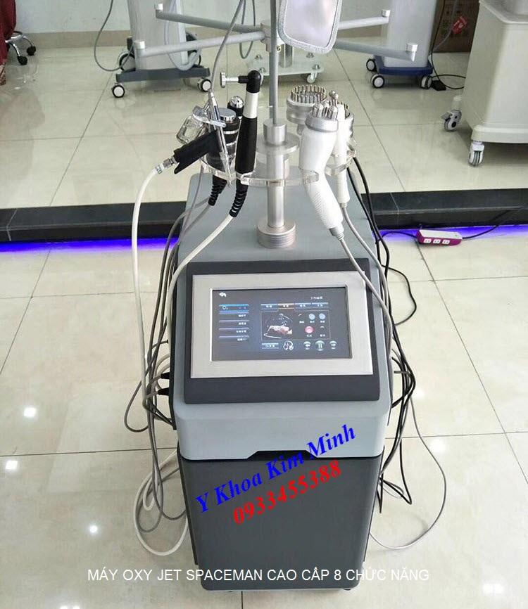 Máy oxyjet cao cấp Spaceman 8 chức năng bán tại Y khoa Kim Minh 0933455388