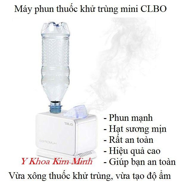 CLBO Humidifier, may phun dung dich khu trung phong mini ban tai Tp HCM - Y Khoa Kim Minh