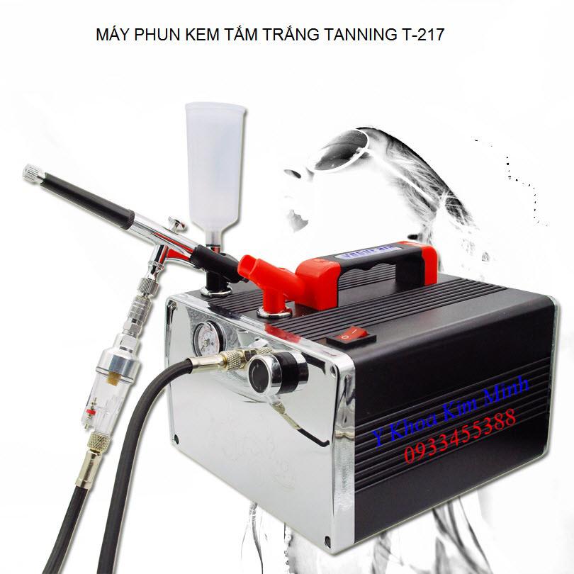Máy phun kem tắm trắng sinh học Tanning T-217 - Y Khoa Kim Minh 0933455388