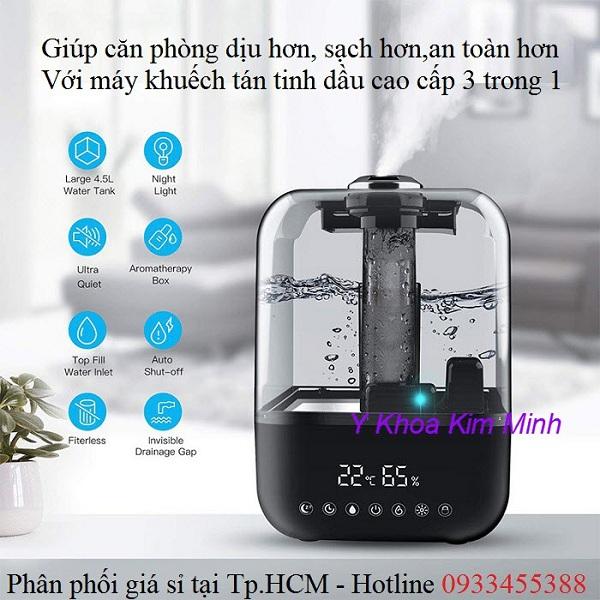 Máy phun khử trùng sát khuẩn không khí phòng JBT 3 trong 1 - Y Khoa Kim Minh
