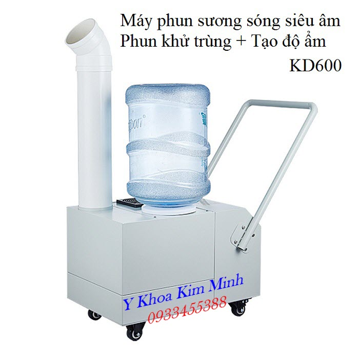 Máy phun khử trùng + tạo độ ẩm phòng 2 trong 1 KD600 bán tại Tp.HCM - Y Khoa Kim Minh