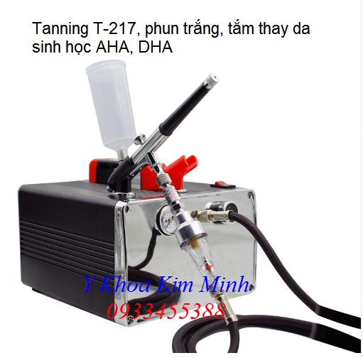 May tam trang thay da sinh hoc AHA, DHA Tanning T-217 - Y khoa Kim Minh 0933455388
