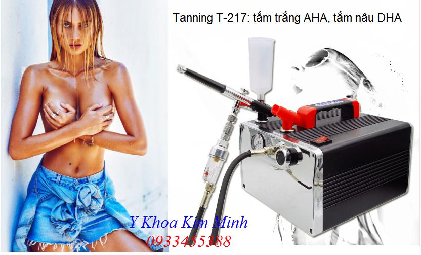 Máy tắm trắng AHA, tắm da nâu DHA Tanning T-217 - Y khoa Kim Minh 0933455388