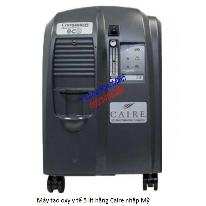 Máy tạo oxy y tế 5 lít hãng Caire nhập Mỹ - Y khoa Kim Minh