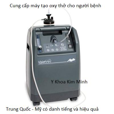 Máy tạo oxy y tế thở cho người bệnh - Y Khoa Kim Minh
