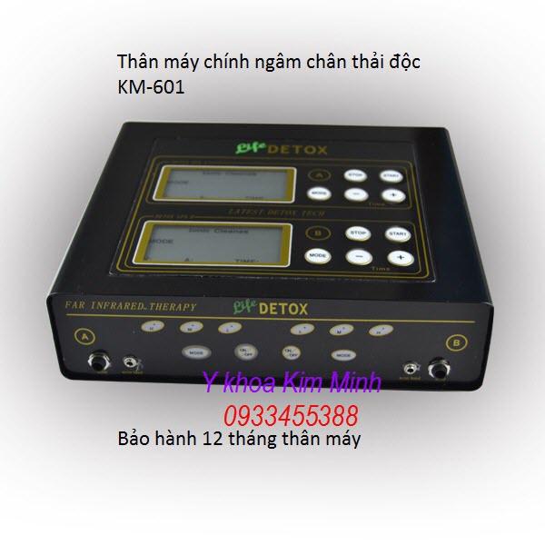Máy thải độc tố cơ thể KM-601 - Y khoa Kim Minh