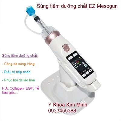 Máy tiên dưỡng chất trẻ hóa da, EZ mesogun injector dung tiêm tế bào gốc thực vật làm trắng trẻ hóa da - Y khoa Kim Minh 0933455388
