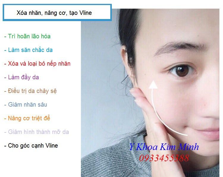Cong dung cua may tiem oxy Han Quoc dieu tri nhan nang co chong lao hoa - Y khoa Kim Minh 0933455388