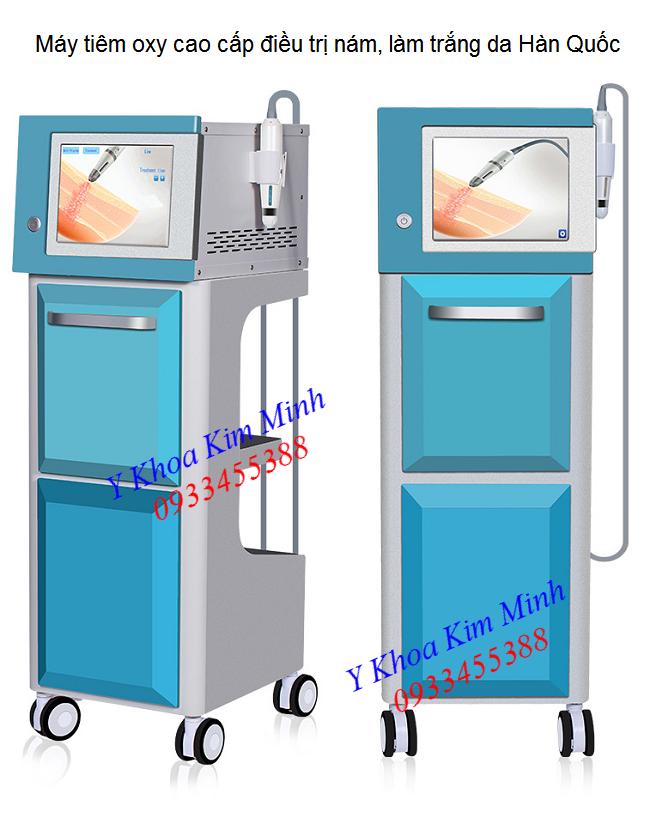 Máy tiêm oxy cao cấp Hàn Quốc chuyên trị nám làm trắng da - Y khoa Kim Minh 0933455388