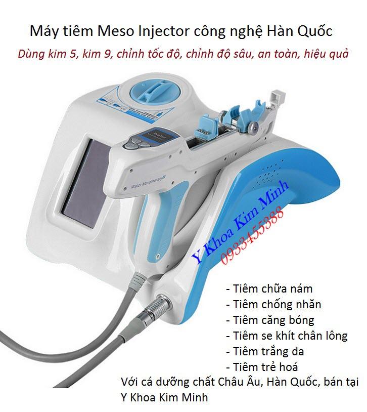 Máy tiêm tinh chất 5 kim, 9 kim tự động Meso Injector bán tại Tp Hồ Chí MInh - Y Khoa Kim Minh