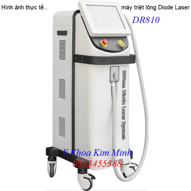 May triet long cong nghe moi nha Diode Laser DR810 - Y khoa Kim Minh