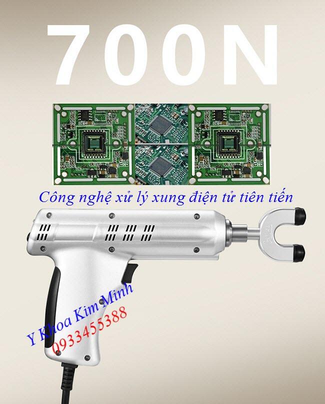 May vat li tri lieu dieu tri giam dau cot song va benh dau than kinh toa mini Ginha - Y khoa Kim Minh