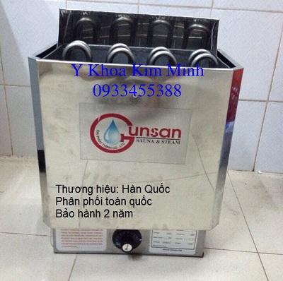 Máy xông khô Sauna Gunsan Hàn Quốc bảo hành 2 năm chính hãng - Y Khoa Kim Minh