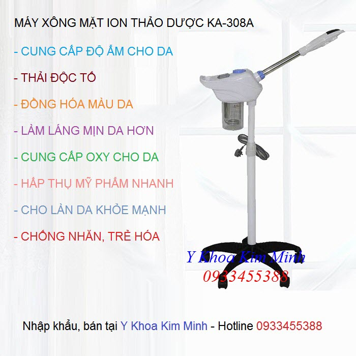 Noi ban may xong ion thao duoc KA-308A tai Tp Ho Chi Minh