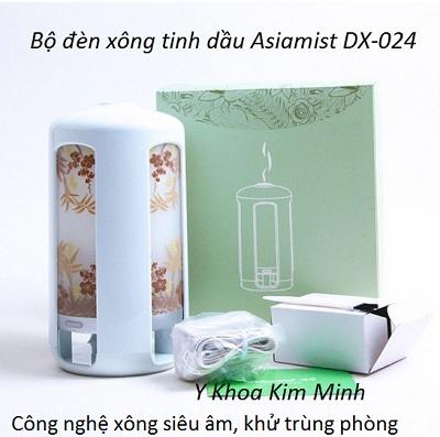 Máy xông tinh dầu siêu âm Asiamist DX-024 phun dung dich khử độc phòng, nhà cửa gia đình - Y khoa Kim Minh