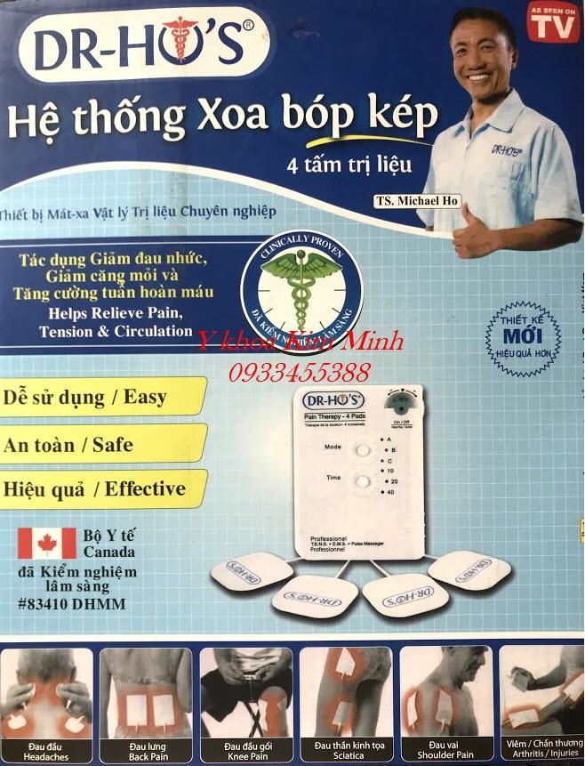 Đại lý máy Dr Hồ chính hãng phân phối tại Tp Hồ Chí Minh - Y Khoa Kim Minh