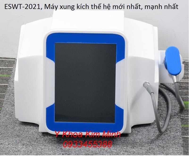 ESWT-2021 là một thiết bị trị liệu giảm đau cơ xương khớp, thần kinh, máy xung kích mạnh nhất hiện nay