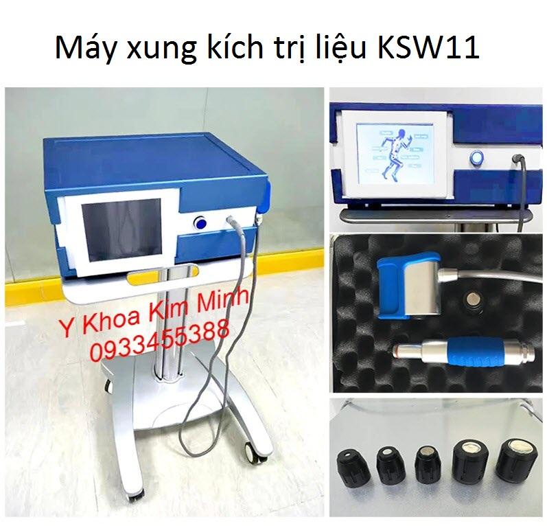 Máy xung kích điều trị KSW11 dùng trong ngành vật lý trị liệu